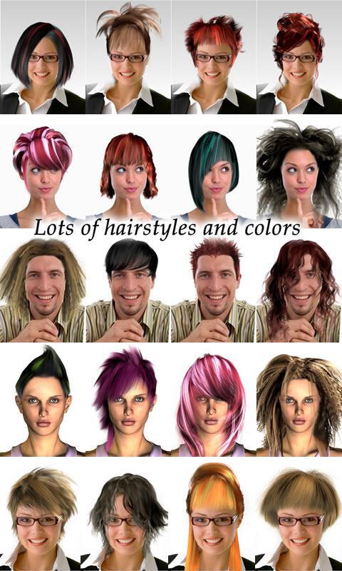 Tremendous Magic Mirror Hair Styler Android Apps On Google Play Short Hairstyles Gunalazisus