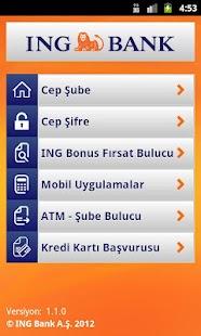 ING Mobil- screenshot thumbnail
