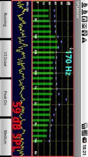 SPL and Spectrum Analyser – Miniaturansicht des Screenshots