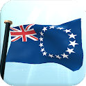 Cook Islands Flag 3D Wallpaper icon