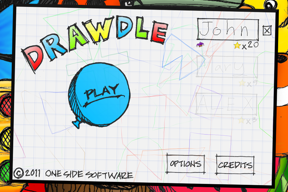 Drawdle - screenshot
