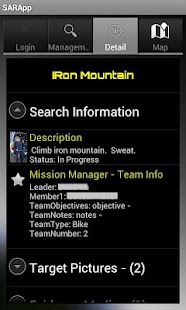 Search and Rescue Application- screenshot thumbnail