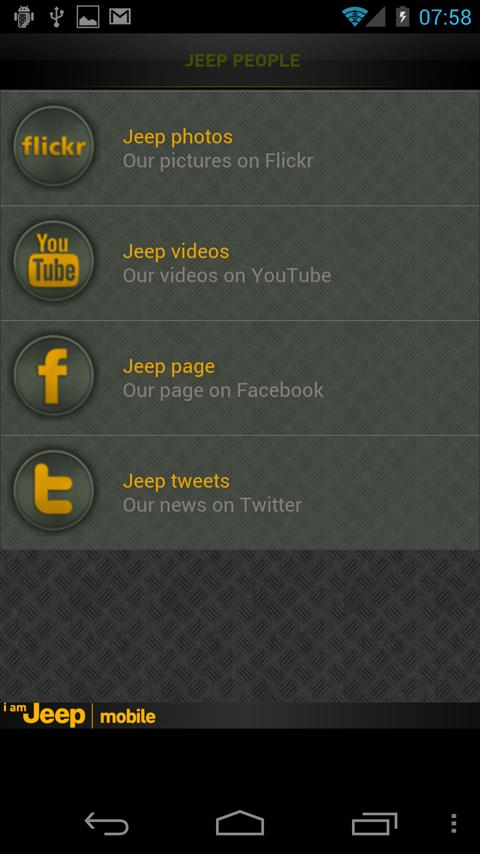 I am Jeep Mobile- screenshot