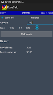 Ebay Seller Calculator (Free) - screenshot thumbnail