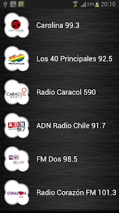 Live Radio Chile - screenshot thumbnail
