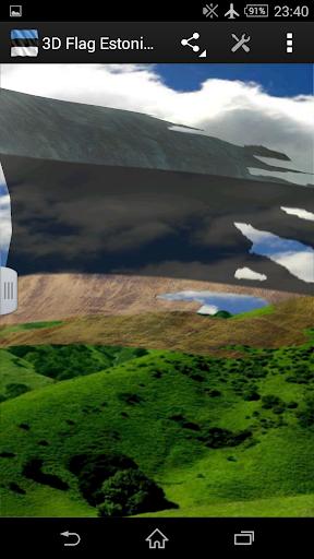 3D Flag Estonia LWP