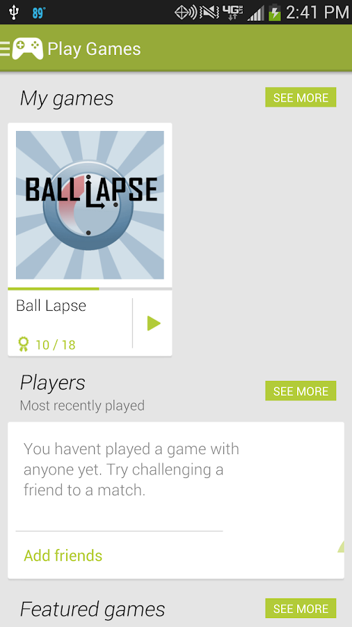 Ball Lapse - screenshot