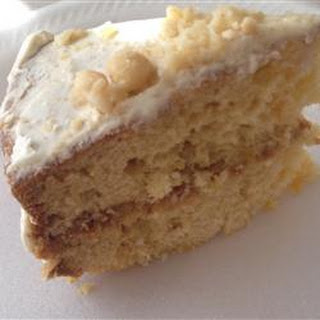 Pineapple Macadamia Nut Cake.