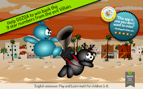 GOZOA - Play & learn math+- screenshot thumbnail