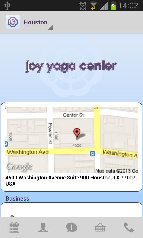 Joy Yoga Center - screenshot