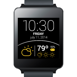 Weather Watch Face – Vignette de la capture d'écran
