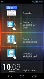 Resizable Contacts Widget Pro - screenshot thumbnail
