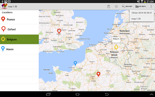 Smart map markers apps on google play screenshot image gumiabroncs Images