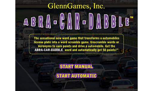 ABRA-CAR-DABBLE