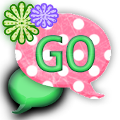 GO SMS THEME/BubbleGumPink