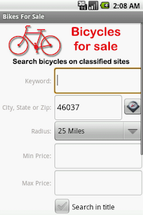 Bikes For Sale - screenshot thumbnail