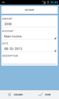 Screenshot of Income and Expense Insight