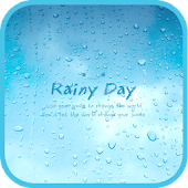 Rainyday go launcher theme