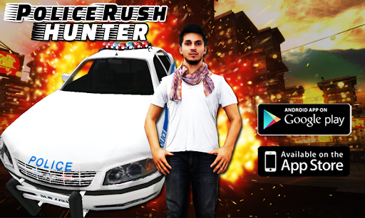 Crazy Police Rush Hunter 3D