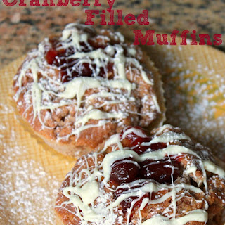 Cranberry Filled Muffins