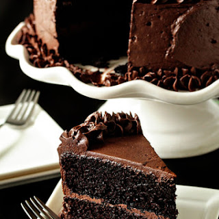The Best Chocolate Cake.