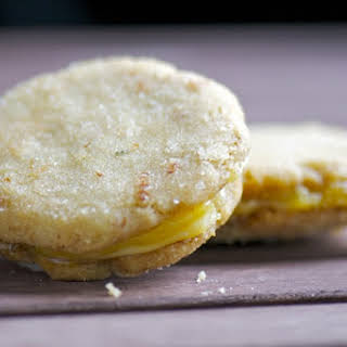 Rosemary Lemon Sandwich Cookies.