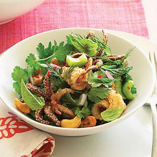 Vietnamese Calamari Herb Salad