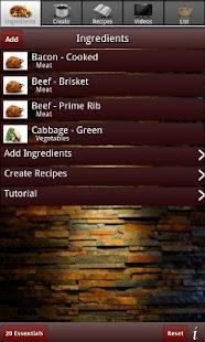 Olson Recipe Maker- screenshot thumbnail
