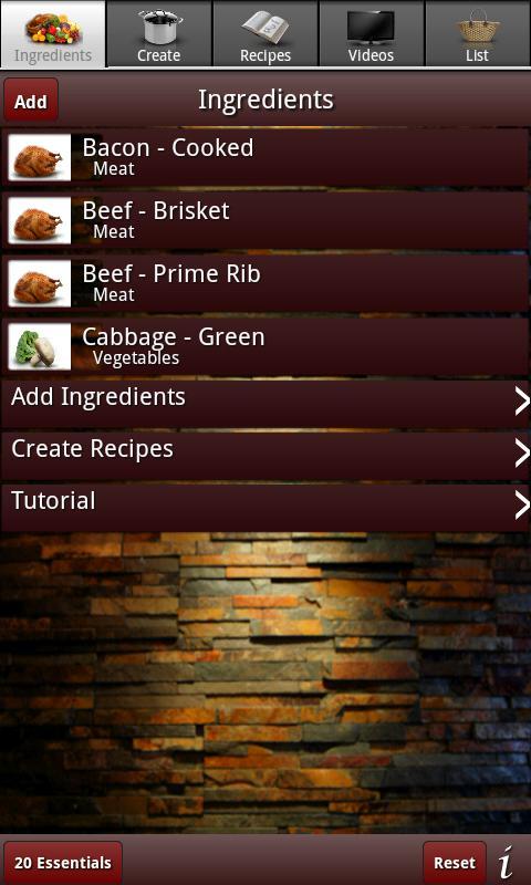 Olson Recipe Maker- screenshot