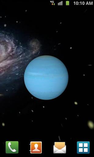 【免費個人化App】3D Uranus Live Wallpaper-APP點子