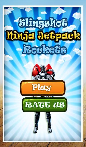Slingshot Ninja Jetpack Rocket