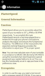 PlatterSpeed - Vinyl Tool- screenshot thumbnail