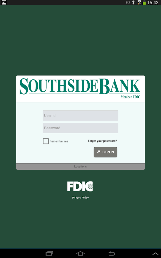 Southside bank android apps on google play for Mercedes benz bank login