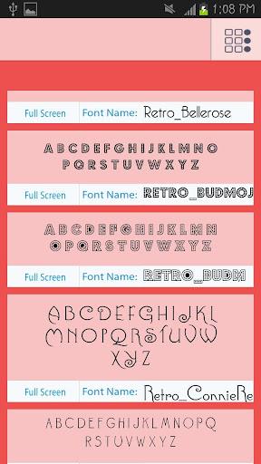 Retro Fonts Free