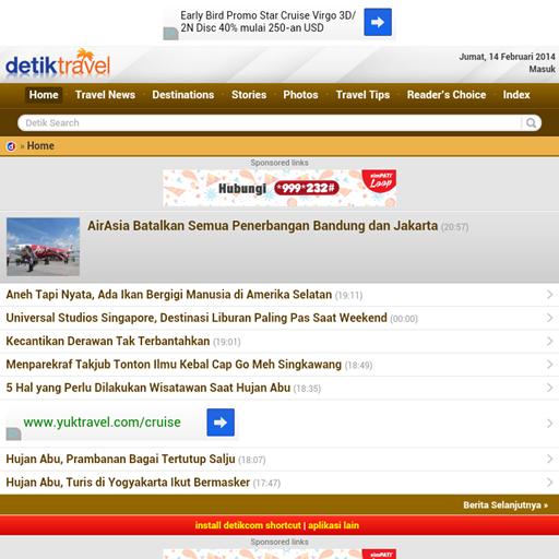 Detik Travel (Unofficial) LOGO-APP點子