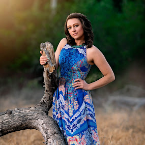 In the Meadows by Lance Emerson - People Portraits of Women ( girls, fashion, senior portraits, women )