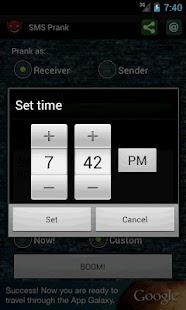 SMS Prank - screenshot thumbnail