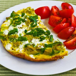 Feta Cheese and Avocado Mini-Frittata for Two.