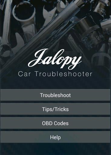 Jalopy Car Troubleshooter