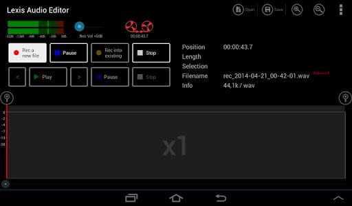 Lexis Audio Editor 1.0.70 screenshots 7