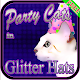 Party Cats in Glitter Hat Free