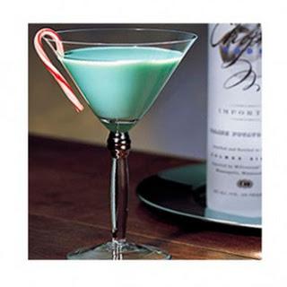 Chopin Mistletoe Martini.