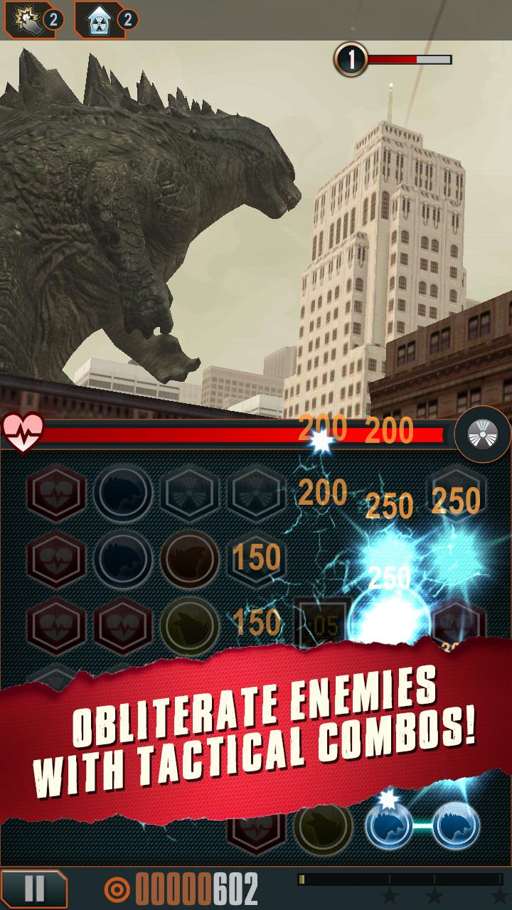 Godzilla - Smash3 screenshot #2