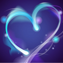 Blue Heart Live Wallpaper icon