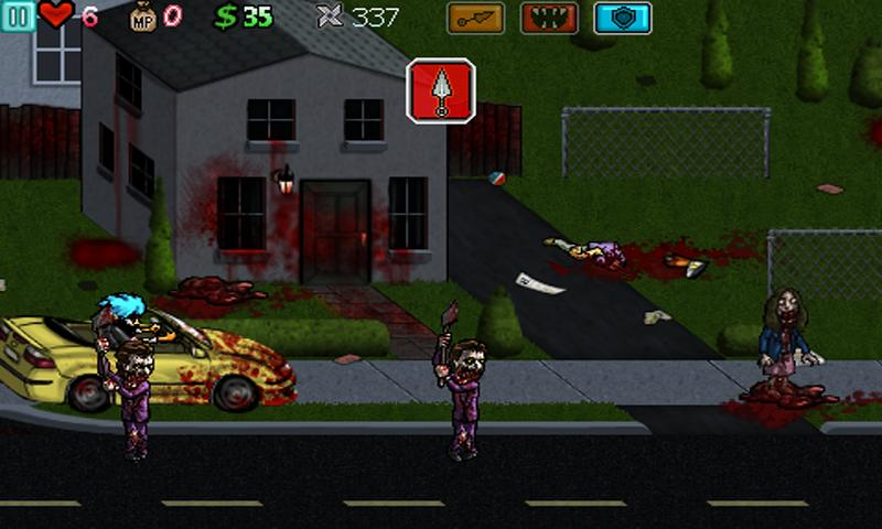 Ghost Ninja:Zombie Beatdown- screenshot
