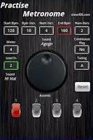 Screenshot of Practise Metronome