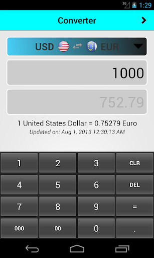 XE Currency - Google Play Android 應用程式