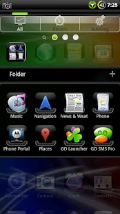 SENSE GO Launcher EX Theme - screenshot thumbnail