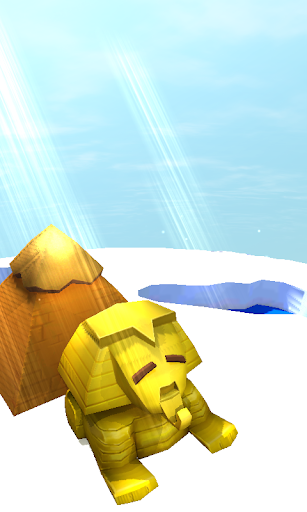 埃及獅身人面像和金字塔3D動態壁紙免費