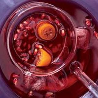 Kumquat-Pomegranate Punch.